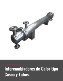 intercambiadores de calor tipo casco y tubos
